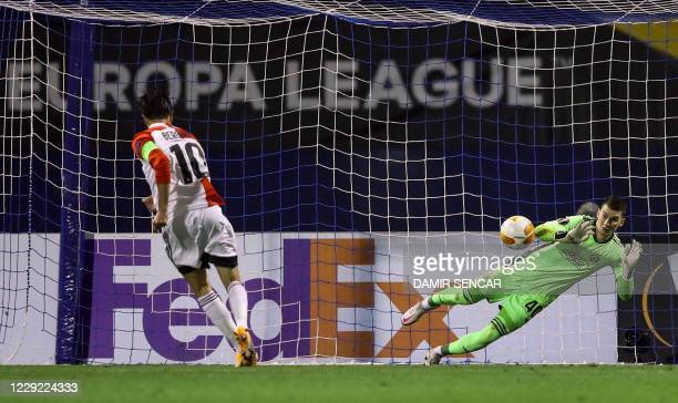 HRV: Dinamo Zagreb v Feyenoord: Group K - UEFA Europa League