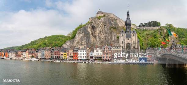 Dinant and the river Meuse, Belgium