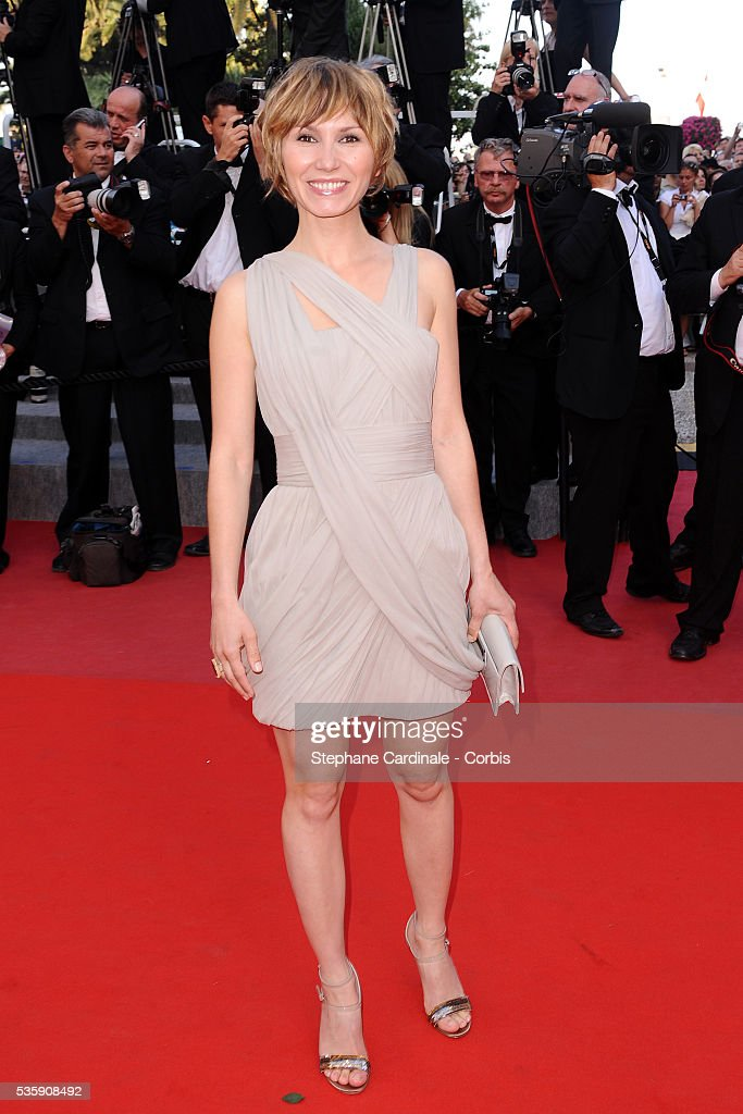 Dinara Droukarova attends the premiere of 'The tree' during the 63rd Cannes International Film Festival.