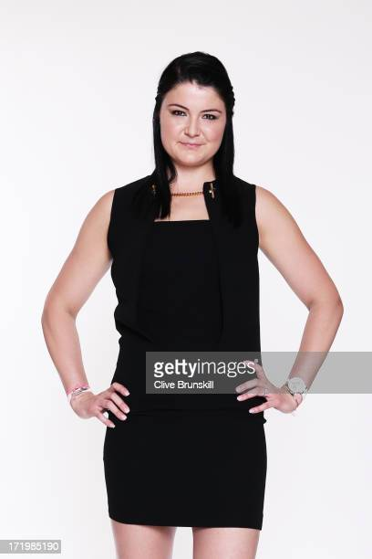 Dinara Safina poses for an exclusive photoshoot during the WTA 40 Love Celebration on Middle Sunday of the Wimbledon Lawn Tennis Championships at the...