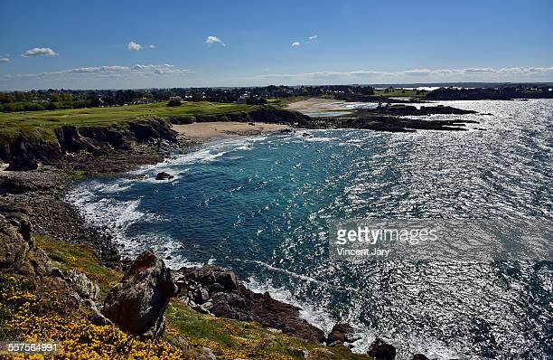 dinard coastline - dinard stock pictures, royalty-free photos & images