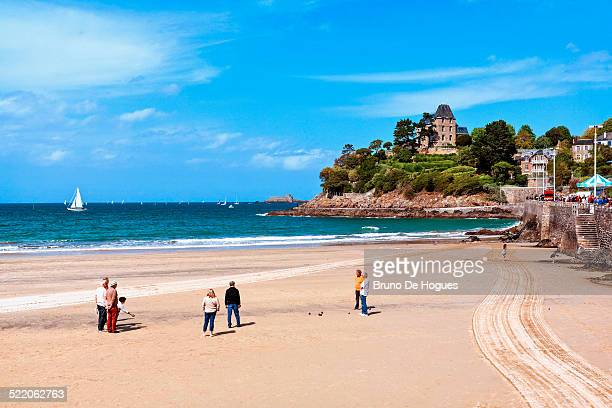 dinard in 'cote d'emeraude', france - dinard stock pictures, royalty-free photos & images