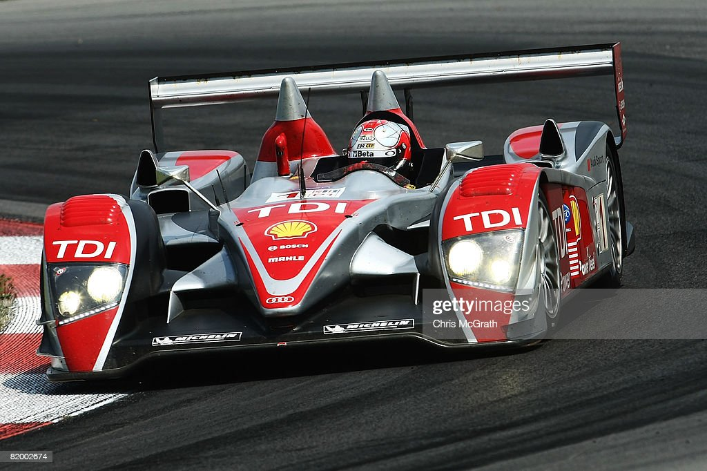 Dindo Capello, Drives The #1 Audi Sport North America Audi R10 TDI During  The Amazing Ideas