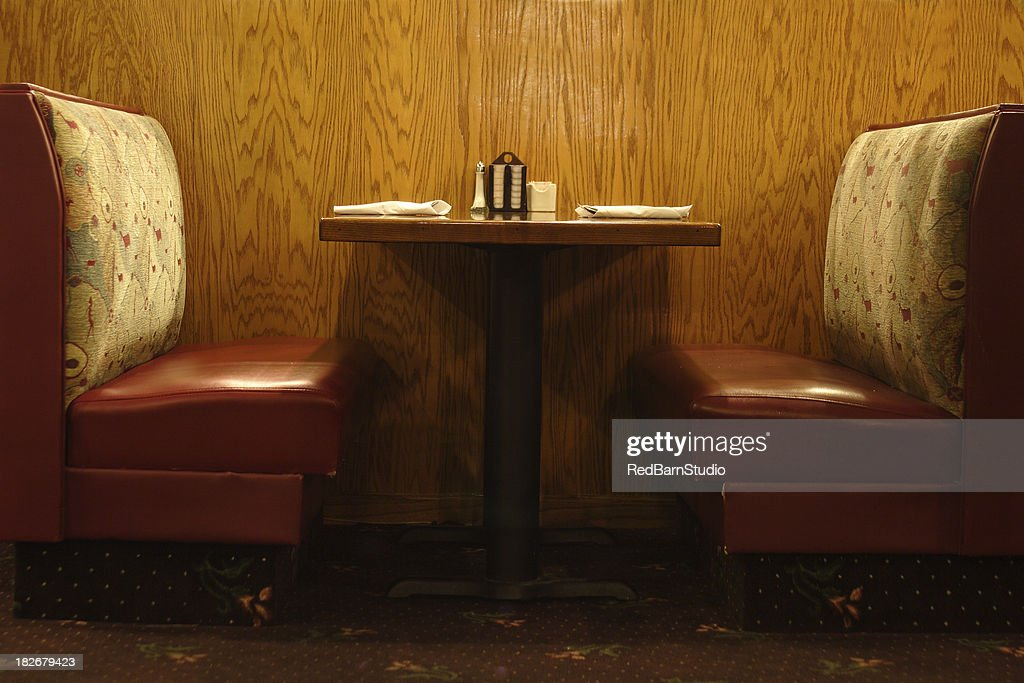 Diner table : Stock Photo
