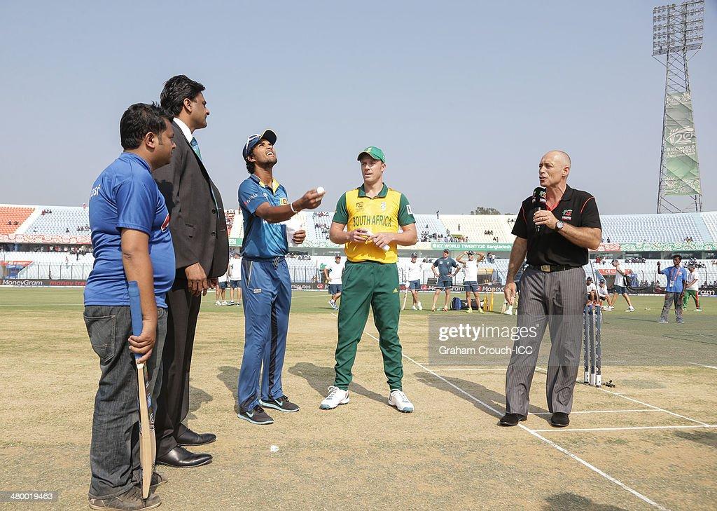Sri Lanka v South Africa - ICC World Twenty20 Bangladesh 2014