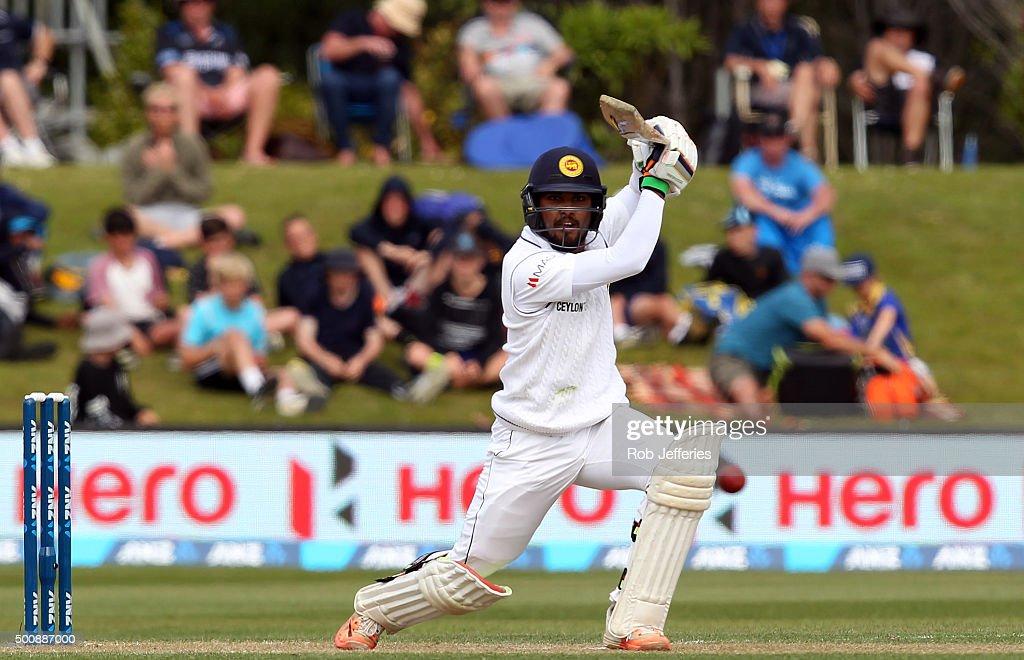 New Zealand v Sri Lanka - 1st Test: Day 2