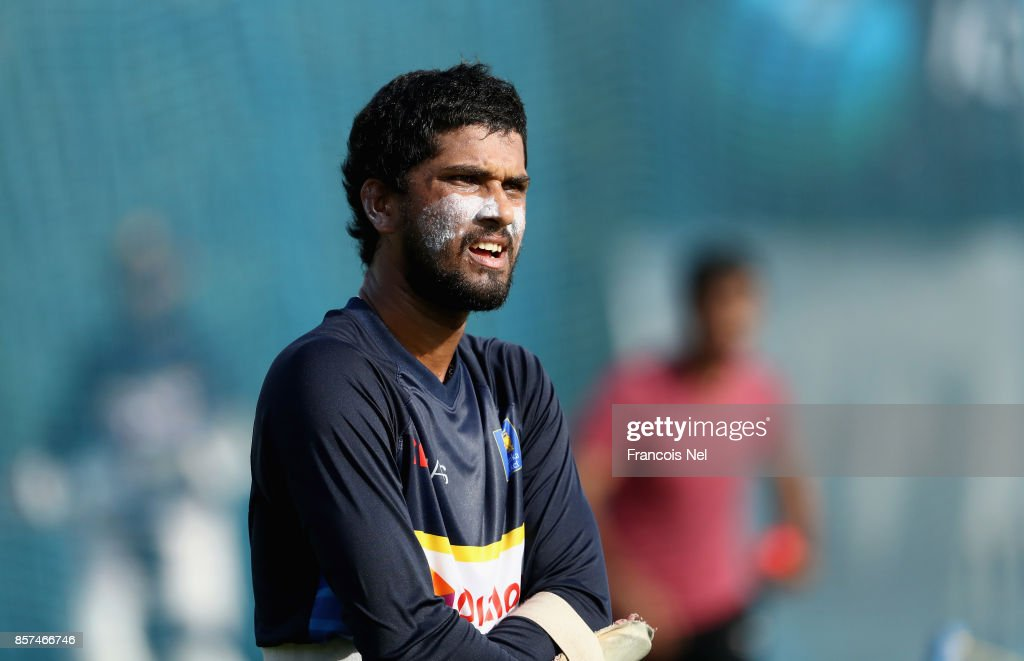 Sri Lanka Nets Session : News Photo