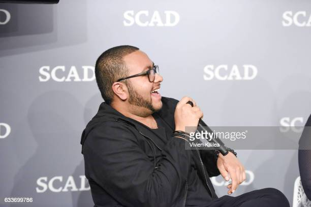 Dinesh Dave speaks at The Near Future of Media panel during Day Two of the aTVfest 2017 presented by SCAD on February 3 2017 in Atlanta Georgia
