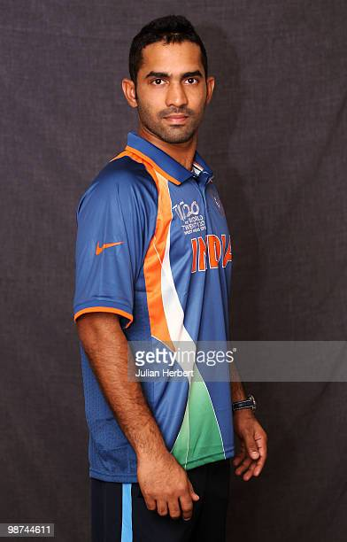 Dinesh Kartik of The Indian T20 squad poses for a portrait on April 29 2010 in Gros Islet Saint Lucia