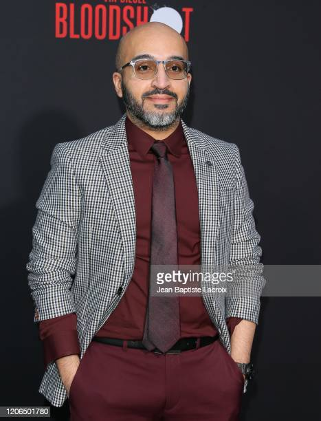 Dinesh Shamdasani attends the premiere of Sony Pictures' Bloodshot on March 10 2020 in Los Angeles California