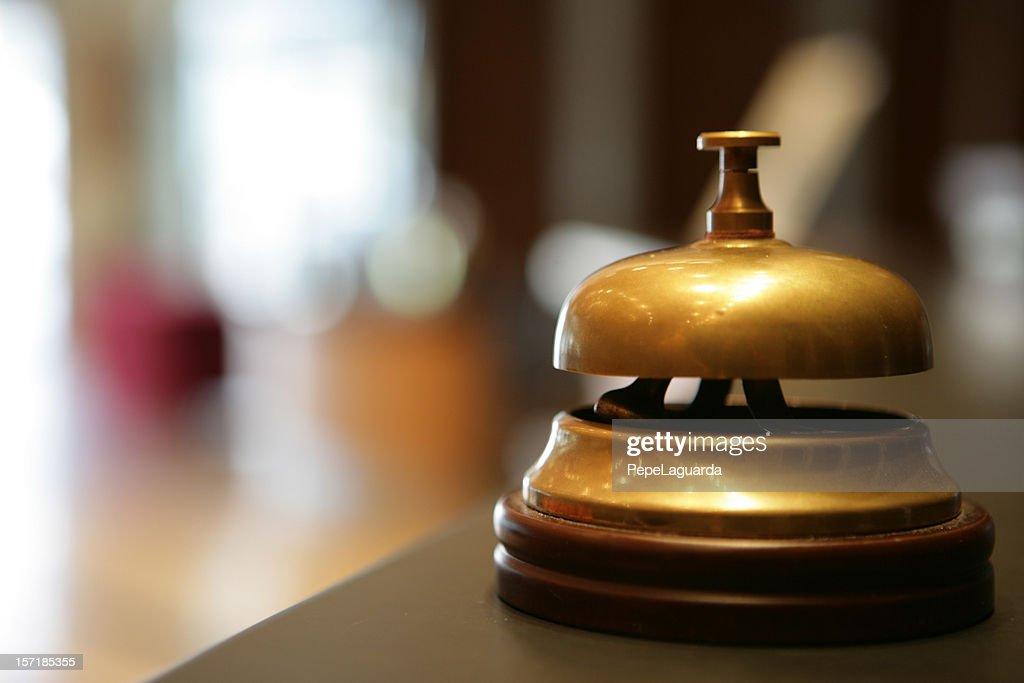 Ding! hotel servizio : Foto stock