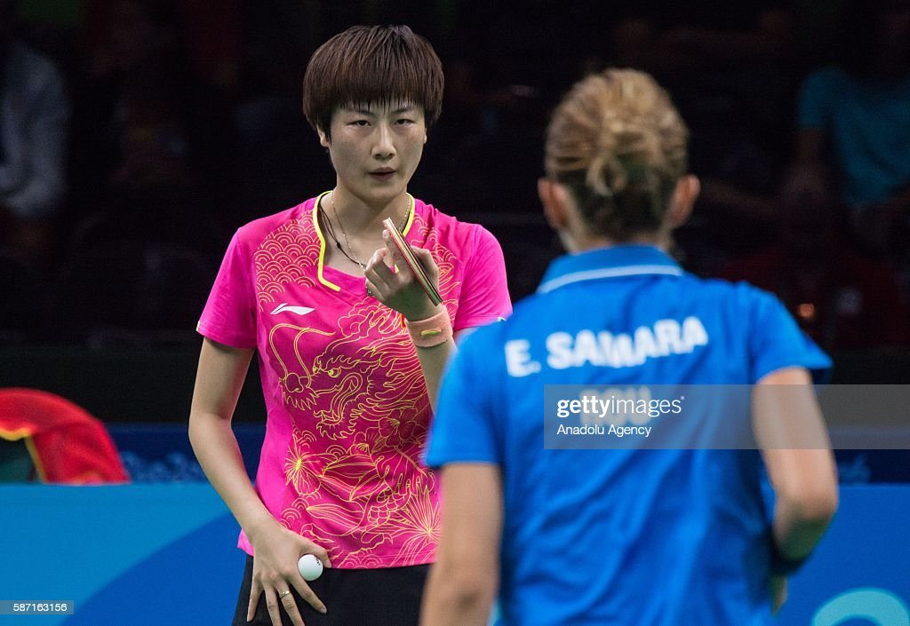 Table Tennis - Rio 2016 Olympic Games : News Photo