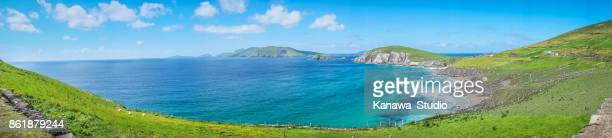 Dingle Peninsula panoramic view