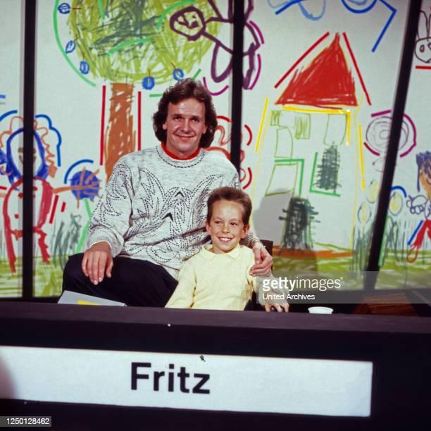 Dingsda, Show mit Fritz Egner, Deutschand 1980er Jahre, Dingsda-Kind: Maximilian Klee.