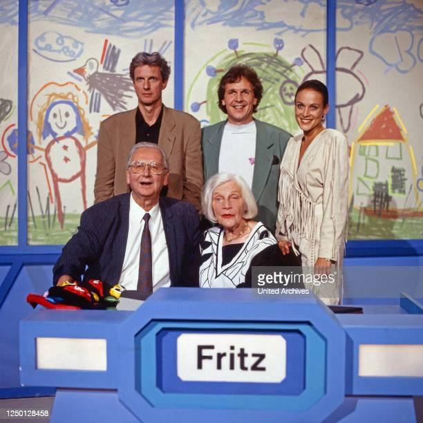 Dingsda, Show mit Fritz Egner, Deutschand 1980er Jahre, Rateteam: Walter Roderer, Annemarie Wendel , Mathieu Carriere, Fritz Egner, Sonja Kirchberger...