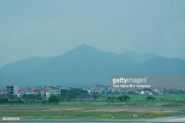 Dinh Ham Lon mountain near Hanoi Noi Bai International Airport in Hanoi in Vietnam