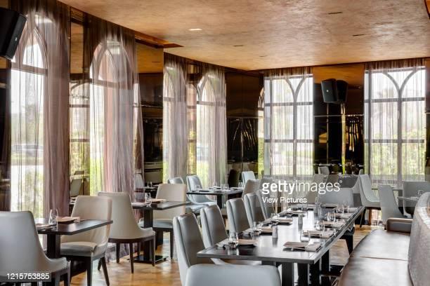 Dining area Marsa Malaz Kempinski Nozomi Doha Qatar Architect Rockwell Group 2016