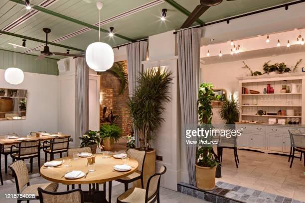 Dining area of Mortimer House Fitzrovia Mortimer House Fitzrovia United Kingdom Architect AvroKO 2018