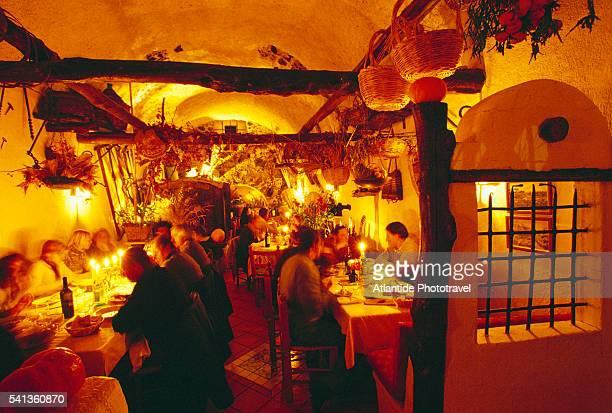 Dining at La Vigna di Alberto Restaurant