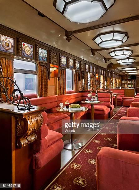 A dining car