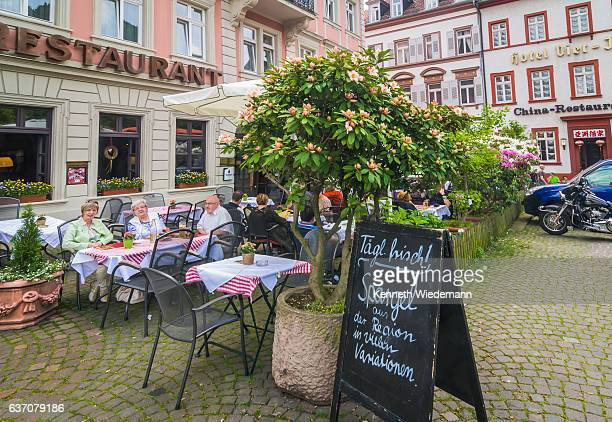 Dining in Heidelberg