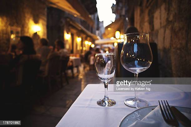 Dining out in Croatia