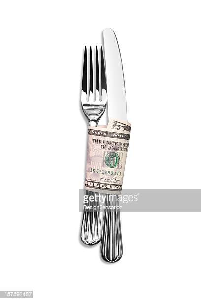 Dining Out - Where to Eat for $5 (+clipping path)