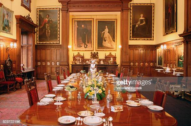 Dining Room at Glamis Castle