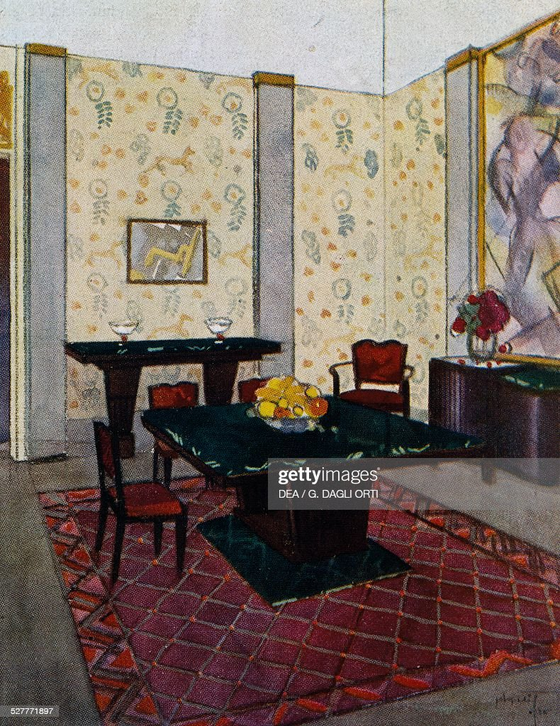 Dining Room For The Ambassade De France By Rene Joubert 1878 1931
