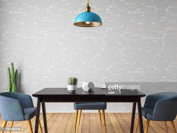 dining room - pendant stock pictures, royalty-free photos & images