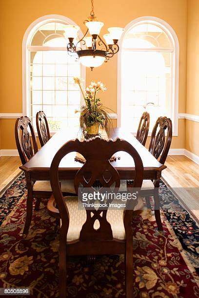 dining room - thinkstock stock photos and pictures