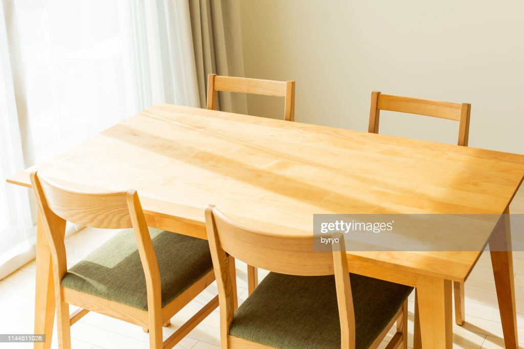 Dining table : Stock Photo