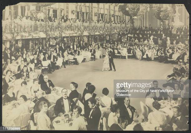 Dining/ball room at the Biltmore Hotel 43rd Street and Madison Avenue New York New York mid 1910s