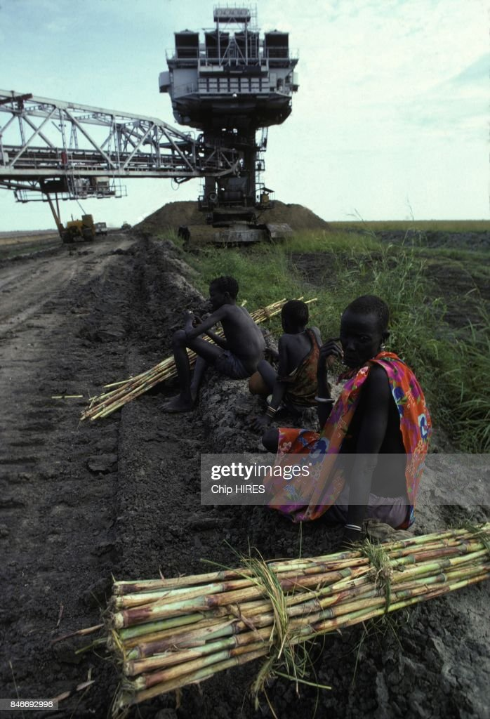 Construction Of The Jonglei Canal In Sudan : News Photo