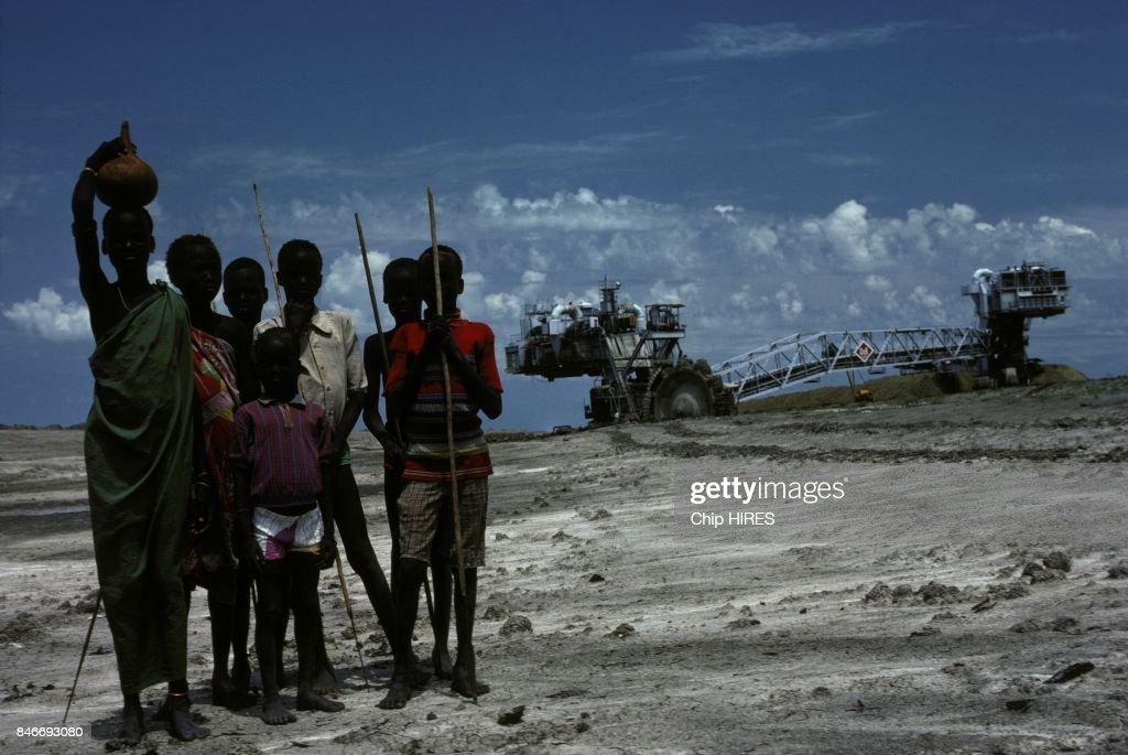 Construction Of The Jonglei Canal In Sudan : Nieuwsfoto's