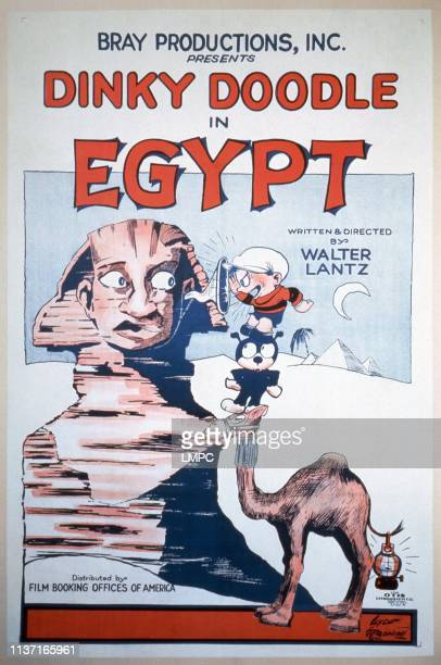 Dinky Doodle In Egypt, poster, poster, 1926.