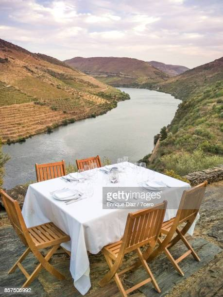Dinner at the Douro river