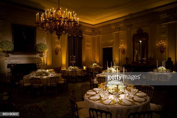 World S Best White House Previews State Dining Room Ahead Of