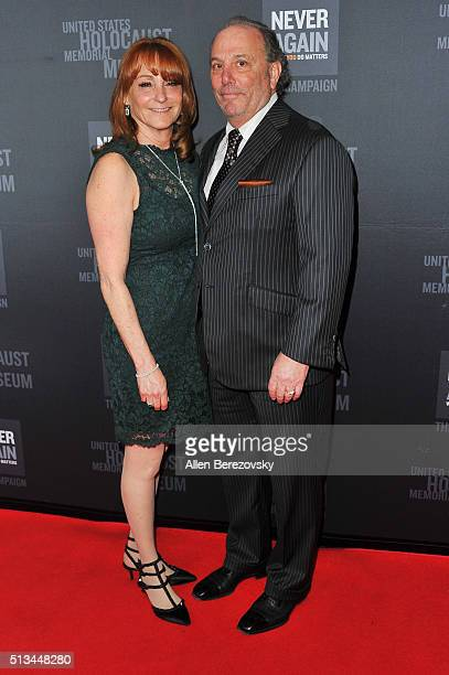 Dinner CoChairs Linda Rubin and Tony Rubin attend the 2016 Los Angeles Dinner What You Do Matters presented by the United States Holocaust Memorial...