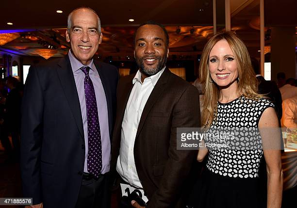 Dinner Committee cochair and Fox TV Group cochair Gary Newman actor/filmmaker Lee Daniels and Dinner Committee cochair and Chairman and CEO of Fox...