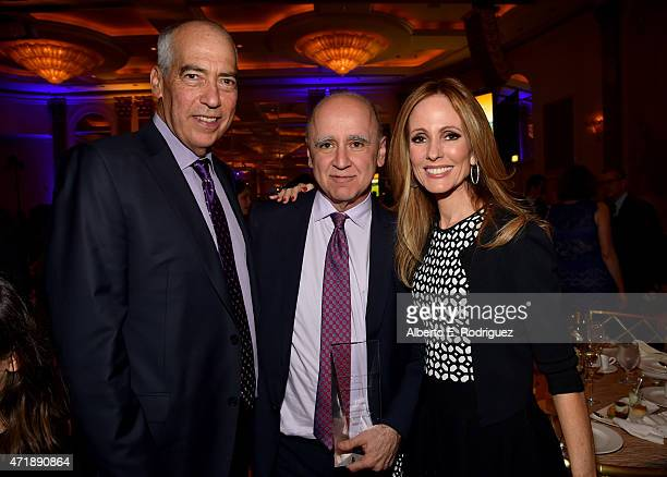 Dinner Committee cochair and Fox TV Group cochair Gary Newman President of Fox Television Studios David Madden and Dinner Committee cochair and...
