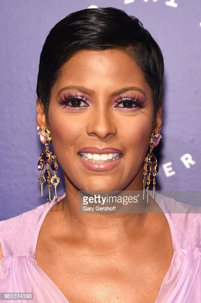 Dinner Committee member Tamron Hall attends the Housing Works' Groundbreaker Awards at Metropolitan Pavilion on April 25 2018 in New York City