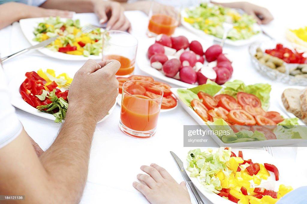 Dinner feast. : Stock Photo