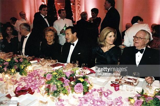 Dinner For Jackie Kennedy Exhibition In Paris De dr à g Michel DAVID WEILL Caroline KENNEDY SCHLOSSBERG Lindsay OWEN JONES Pdg de l'Oréal et...