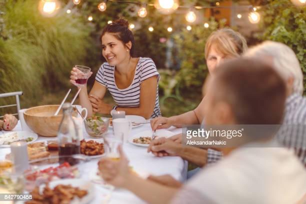 Diner voor mijn familie
