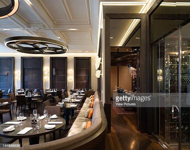 Dinner Heston Blumenthal Restaurant Mandarin Oriental Hotel, Hyde Park, London, Sw1, United Kingdom, Architect: Tihany Design Dinner, Heston...
