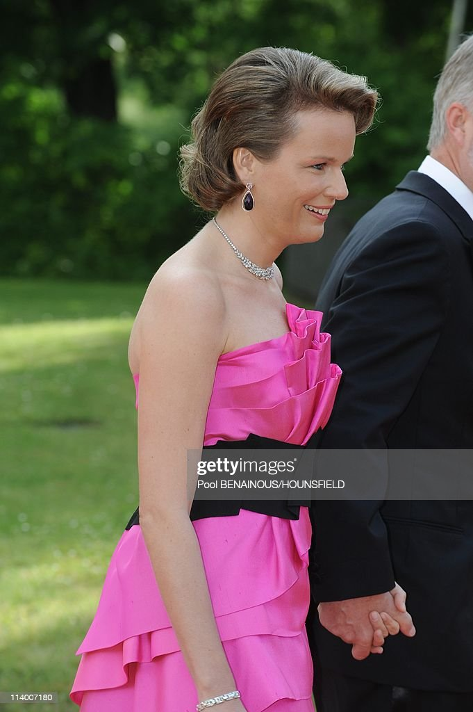 Dinner hosted by the Swedish government of in honour of Her Royal Highness Crown Princess Victoria of Sweden and Daniel Westling. Mr. Daniel Westling. Diner hosted by the government of Sweden in Honor for the wedding of Princess Victoria In Stockholm, Swe : Nieuwsfoto's