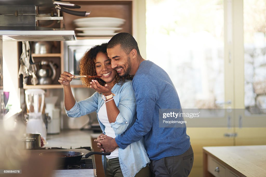 Dinner made with love : Stock Photo