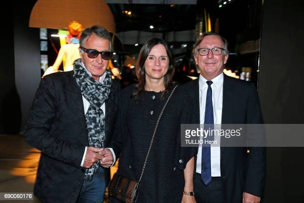 Dinner of the Societe des Amis to celebrate the Pompidou Museum's 40th year April 25 2017 Eric Pfrunder Nathalie and Bruno Pavlovsky