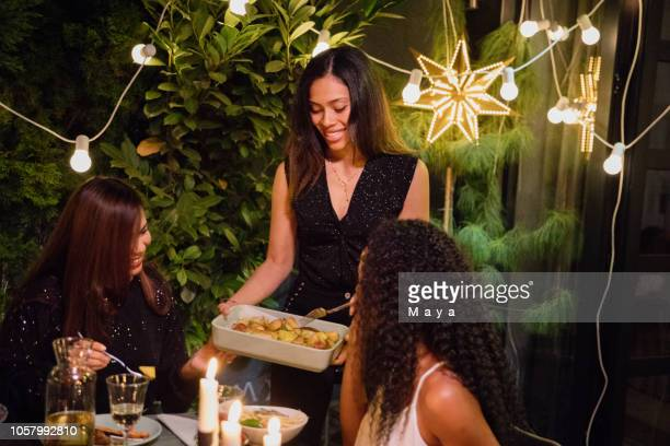 dinner party - party host stock pictures, royalty-free photos & images